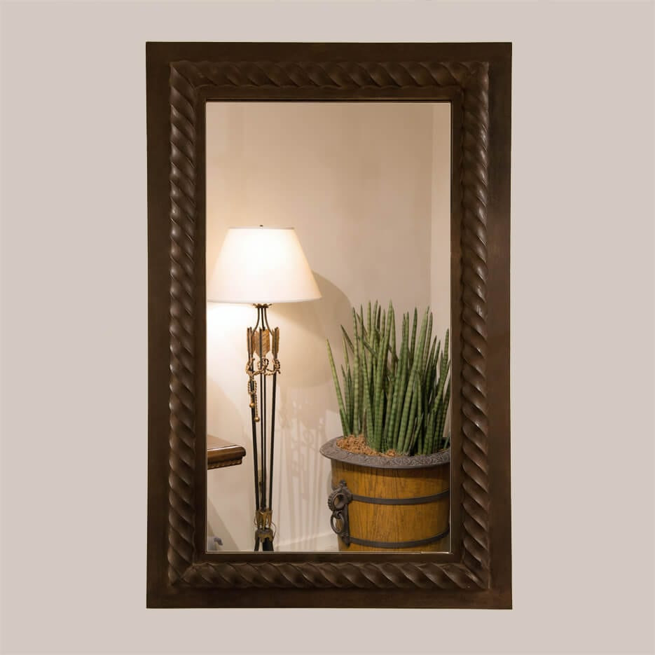 5011 Rope Mirror Without Bevel