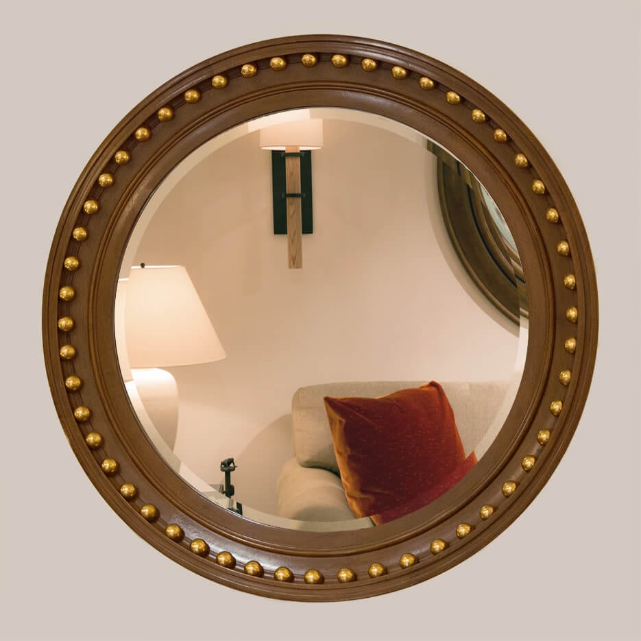 5012 Bullseye Mirror Without Bevel