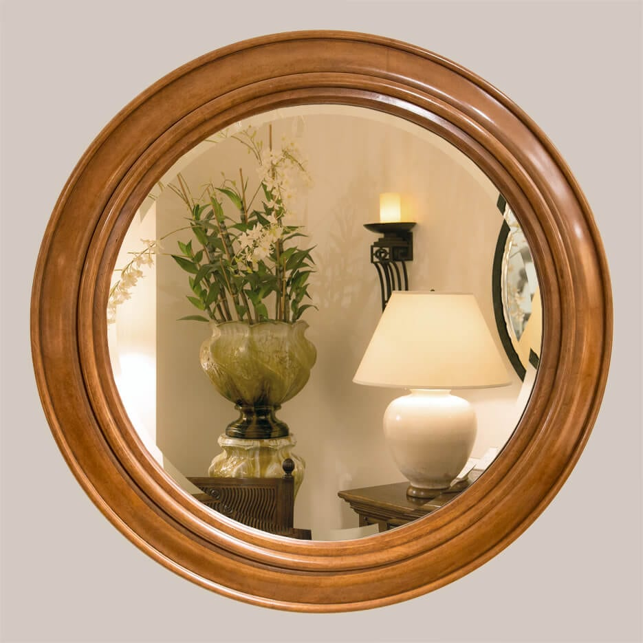 5014 Circle Mirror With Bevel