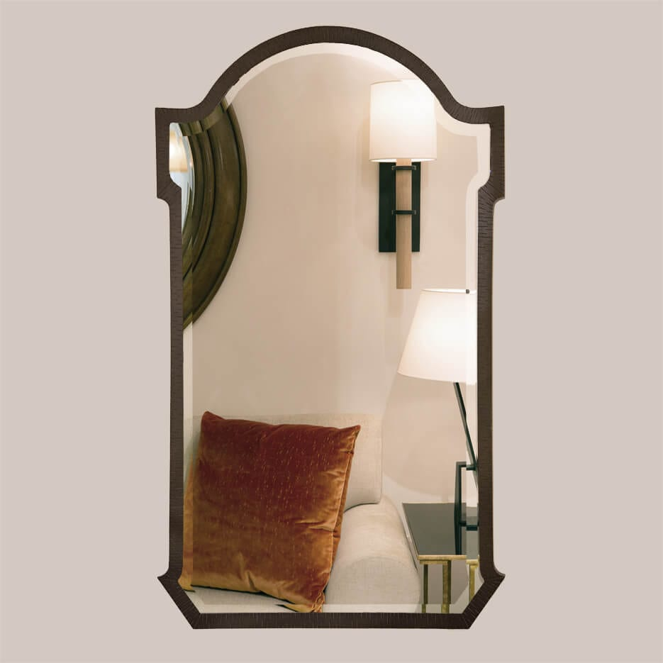 5017 Arch Mirror With Bevel