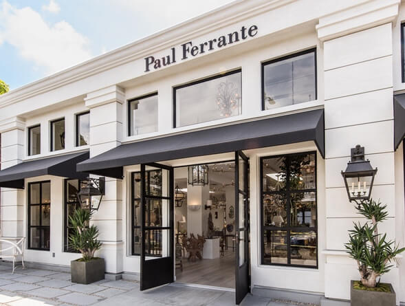 Paul Ferrante Lighting New Store Front