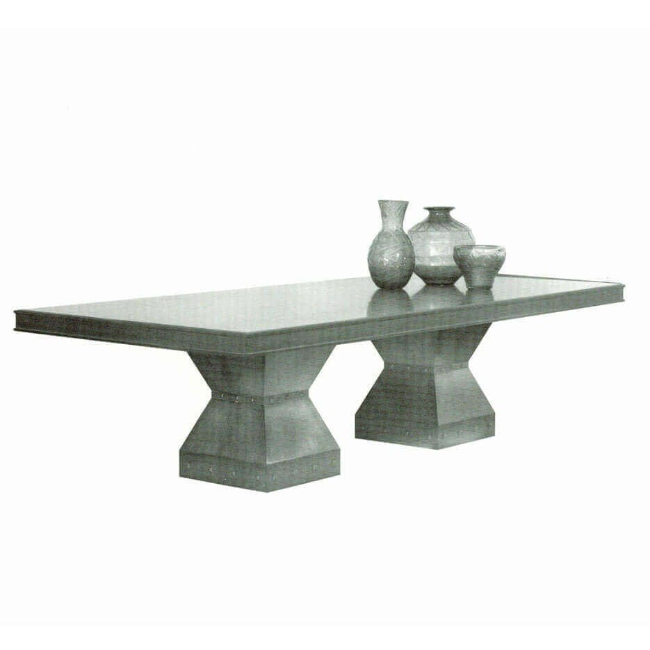 6090 Twin Pedastal Table