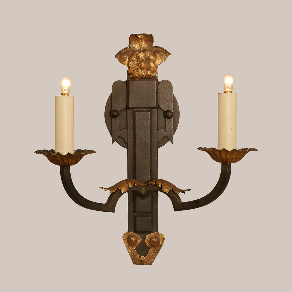 1015-A Two-Arm Simplicity Sconce