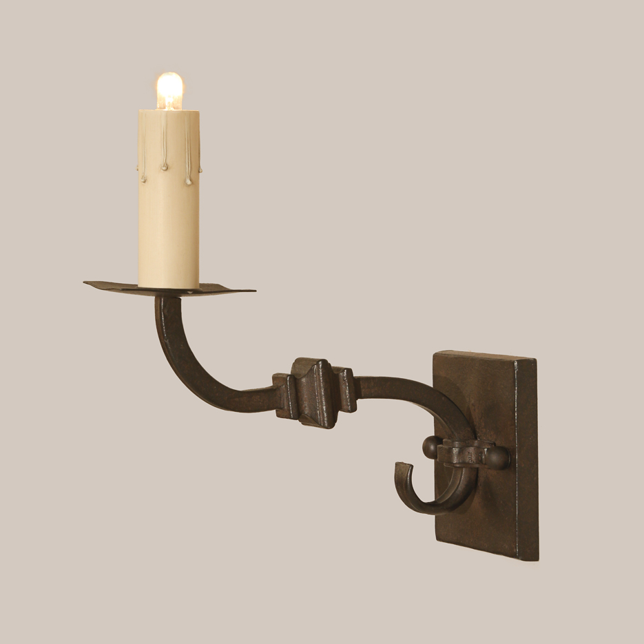 1093 Square Knuckle Sconce