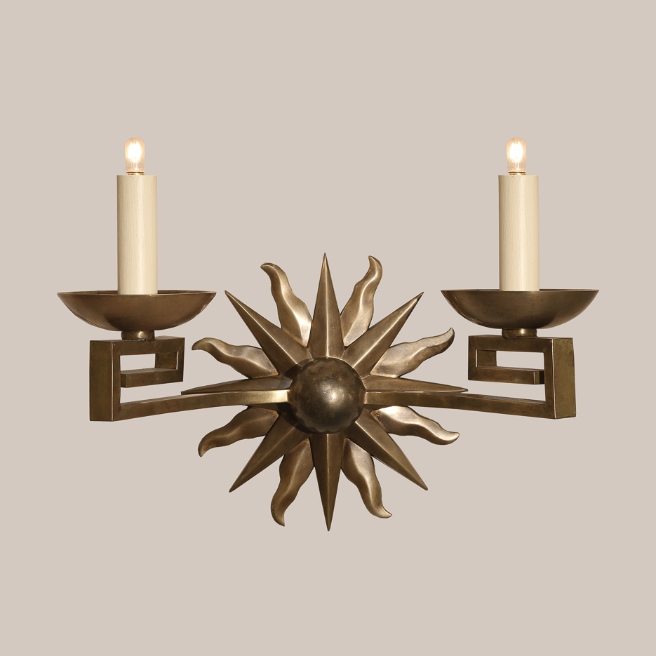 1114  Compass Sconce