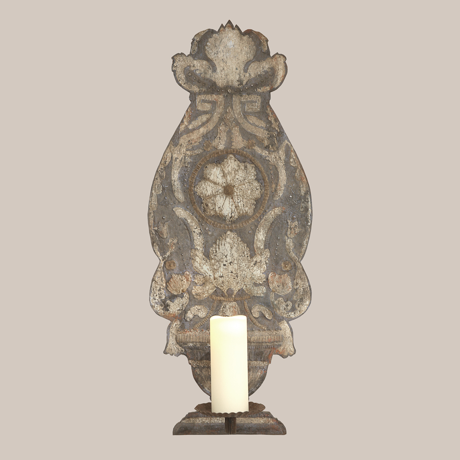 1120 Painted Tole Sconce