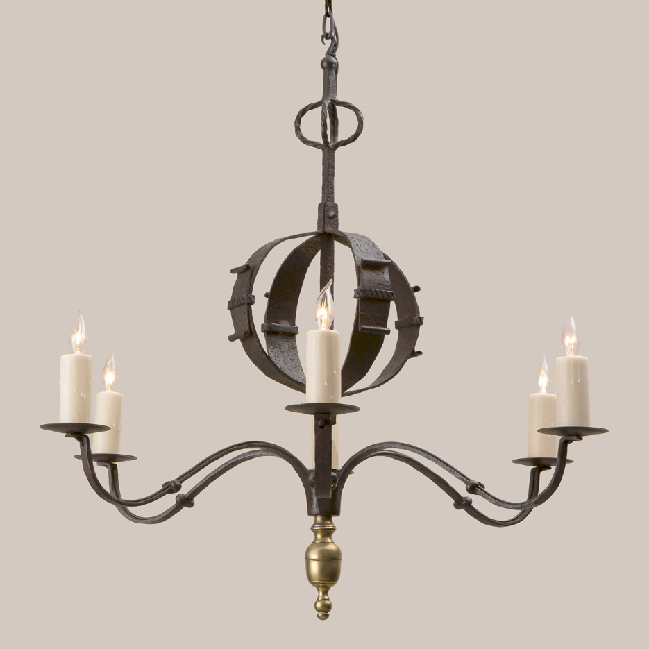 2102 Old Style Tuscan Chandelier