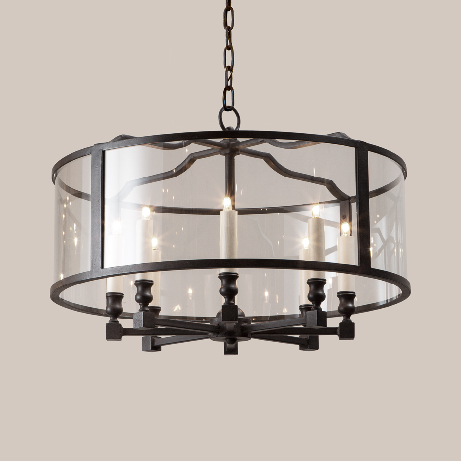2104-R Round Crescent Heights Hanging Fixture
