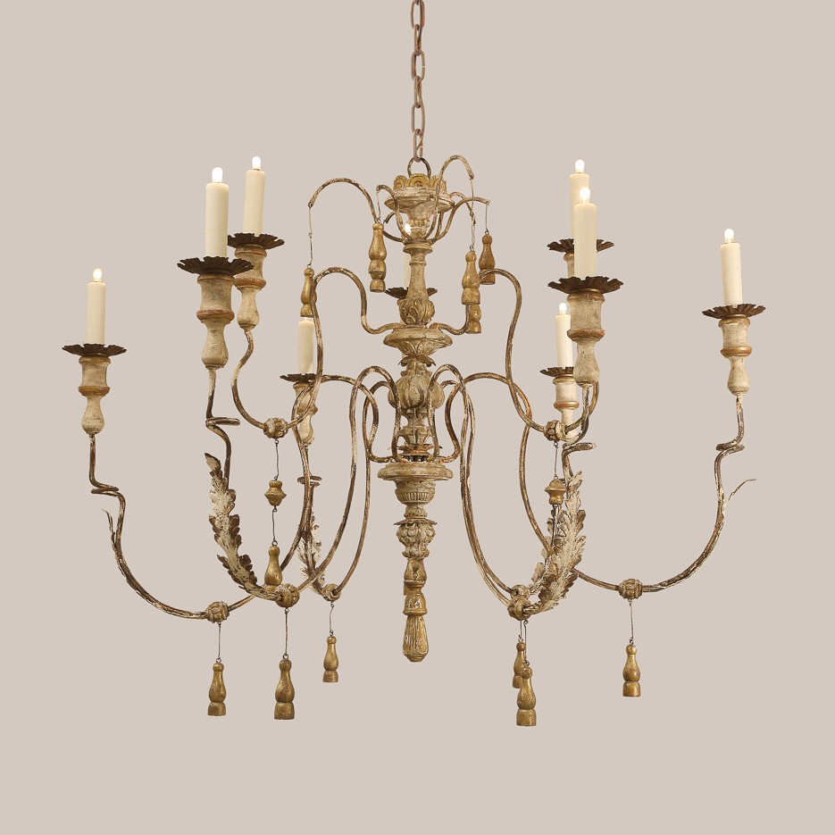 2119 New Tassel Chandelier