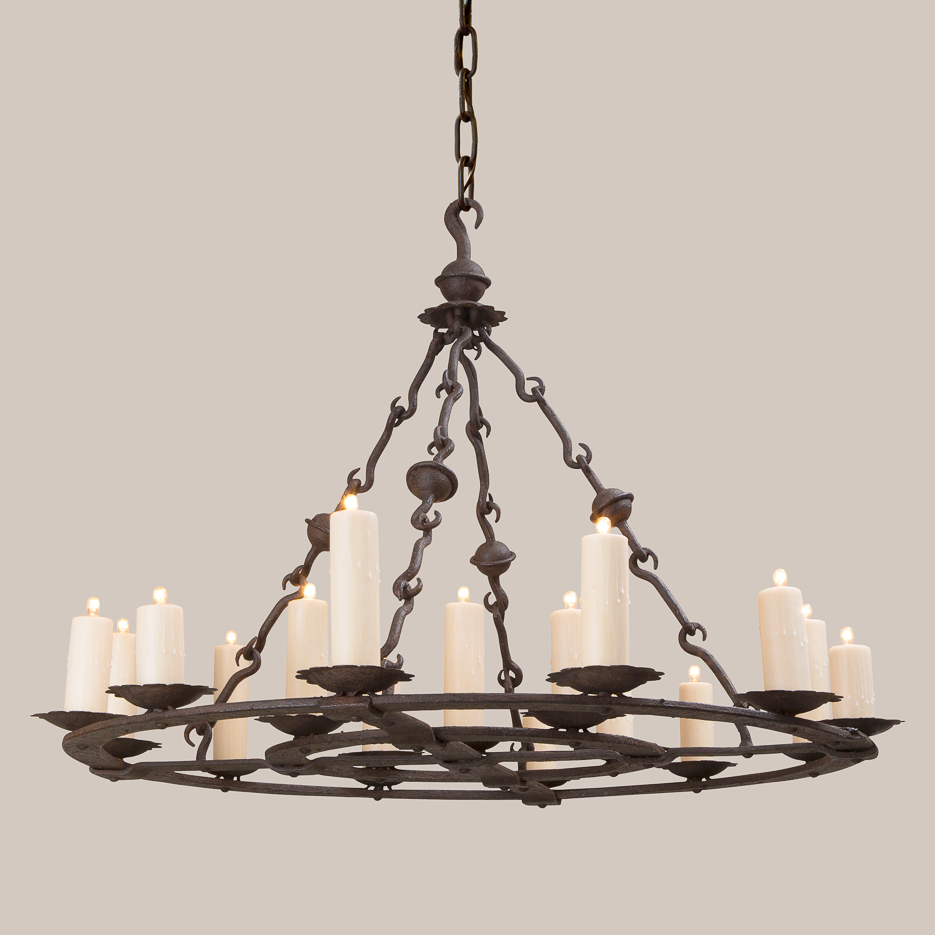 2135-L Large Valencia Chandelier