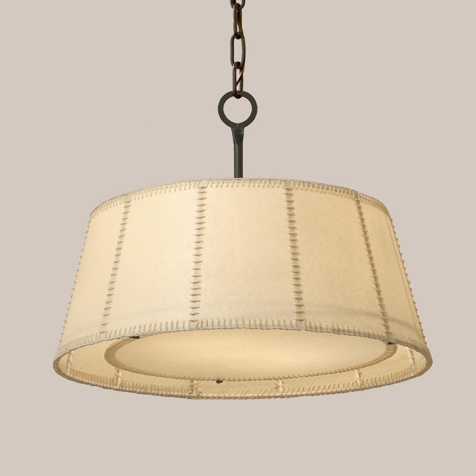 2174 Hanging Shade Fixture w/Stitching