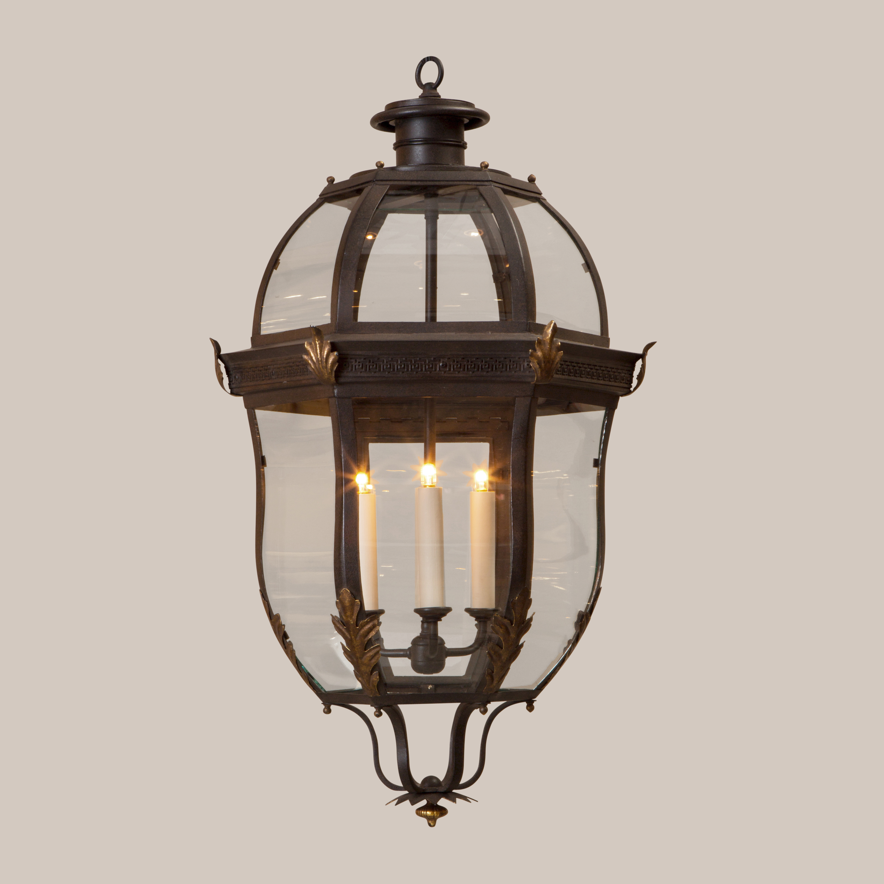 4005-L Large Normandie Hanging Lantern