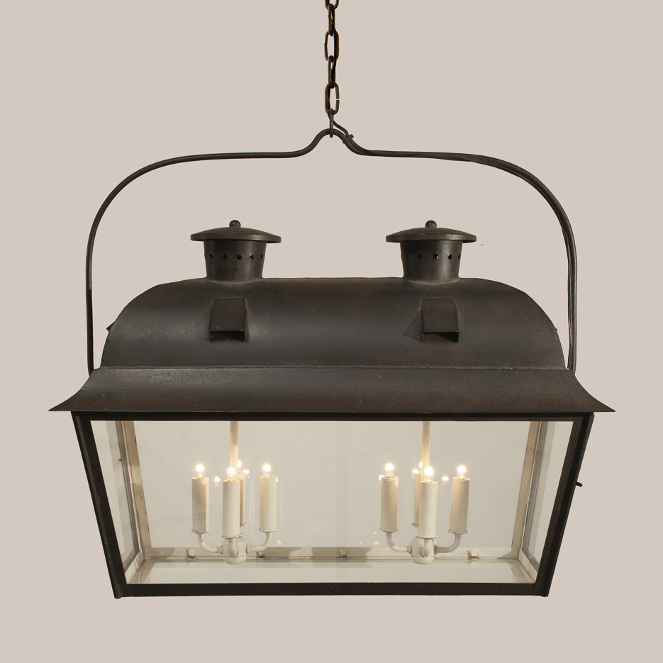 4011-D Double Nantucket Hanging Lantern