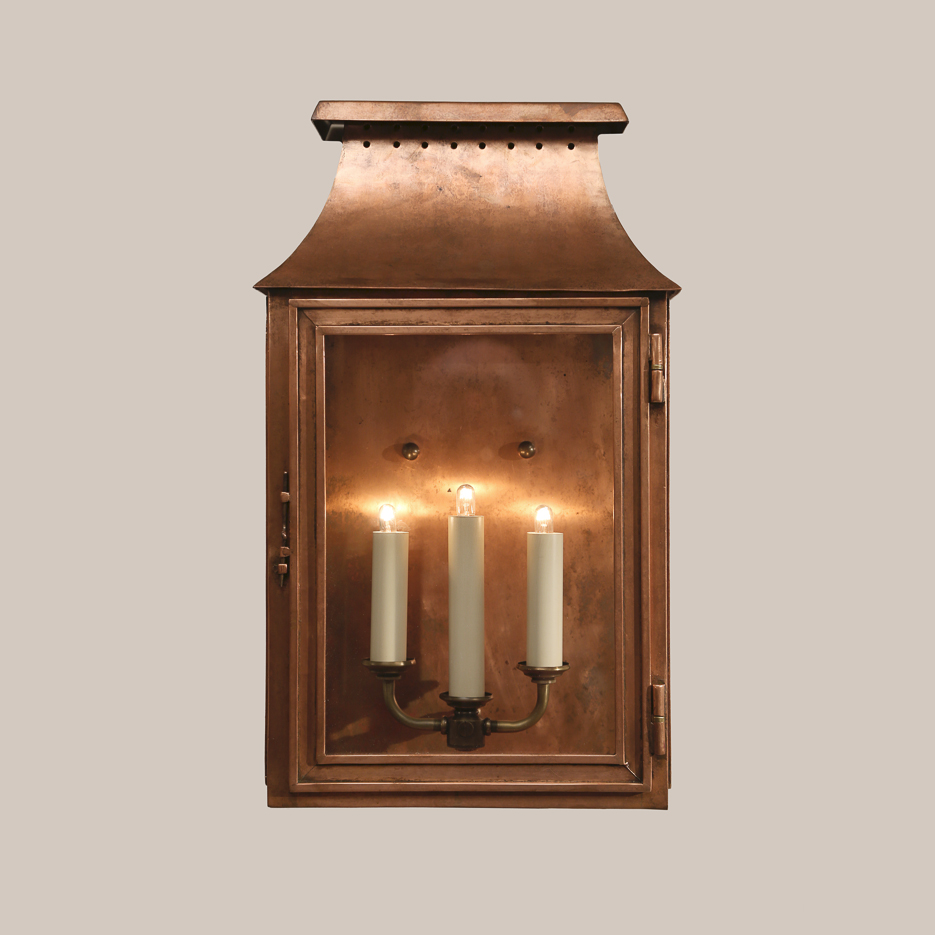 4014-C Copper Mt. Vernon Wall Lantern