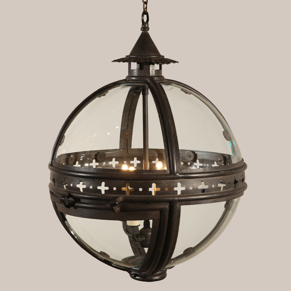 4024-S Small Gaslight Hanging Lantern