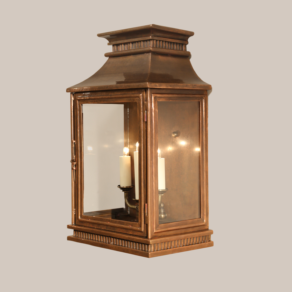 4143-C Copper Jefferson Wall Lantern