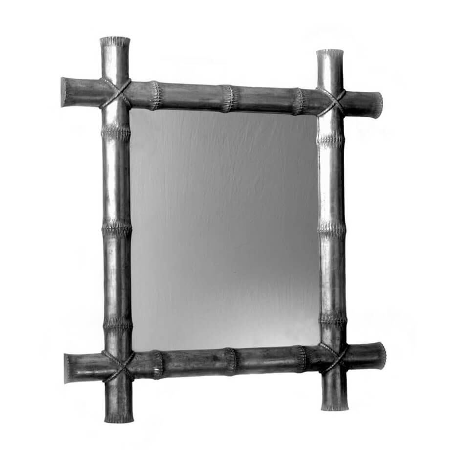 5004 Bamboo Mirror Without Bevel