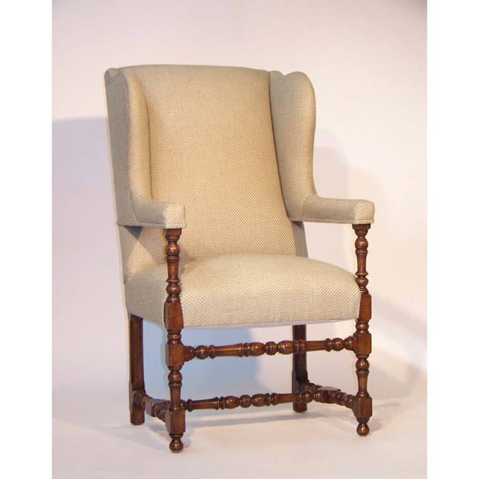6113-C Wingback Chair