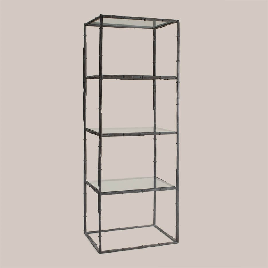 6063-A Bamboo Etagere