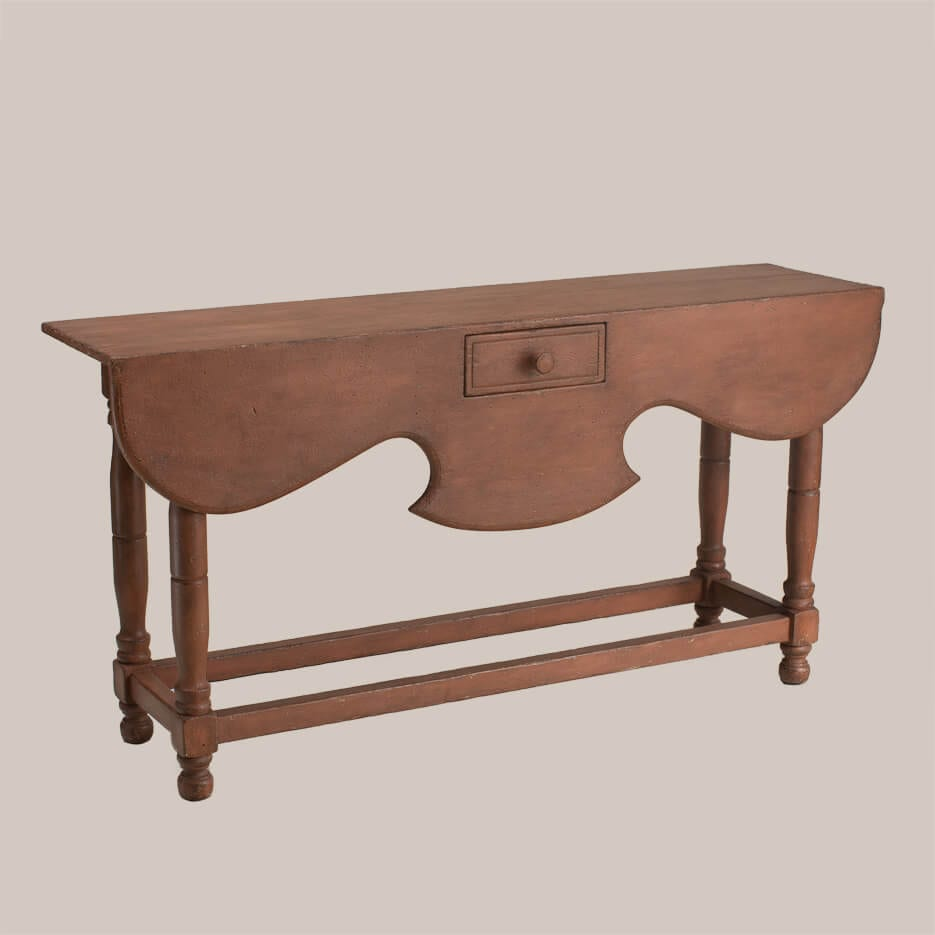 6102 Mulberry Side Table with Drawer