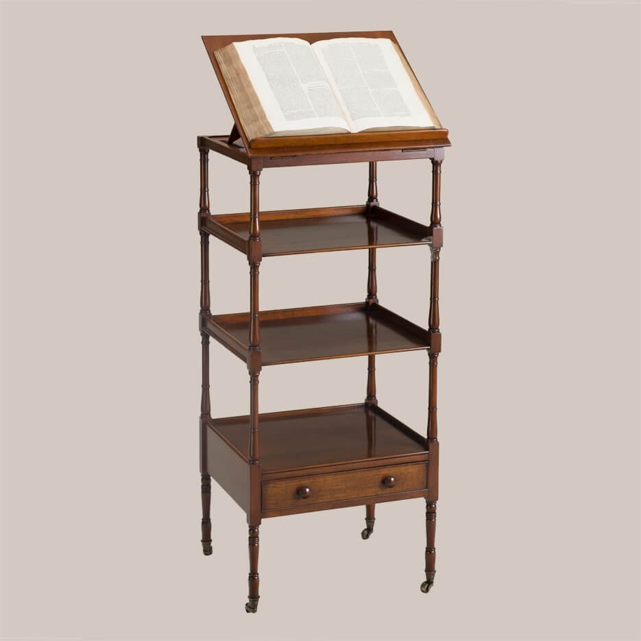 6146 Stanford Etagere w/Bookstand