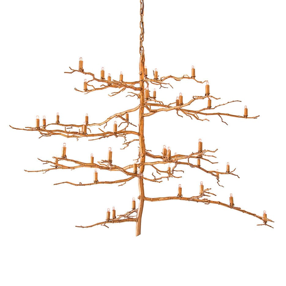 2125-V Vertical Branch Chandelier