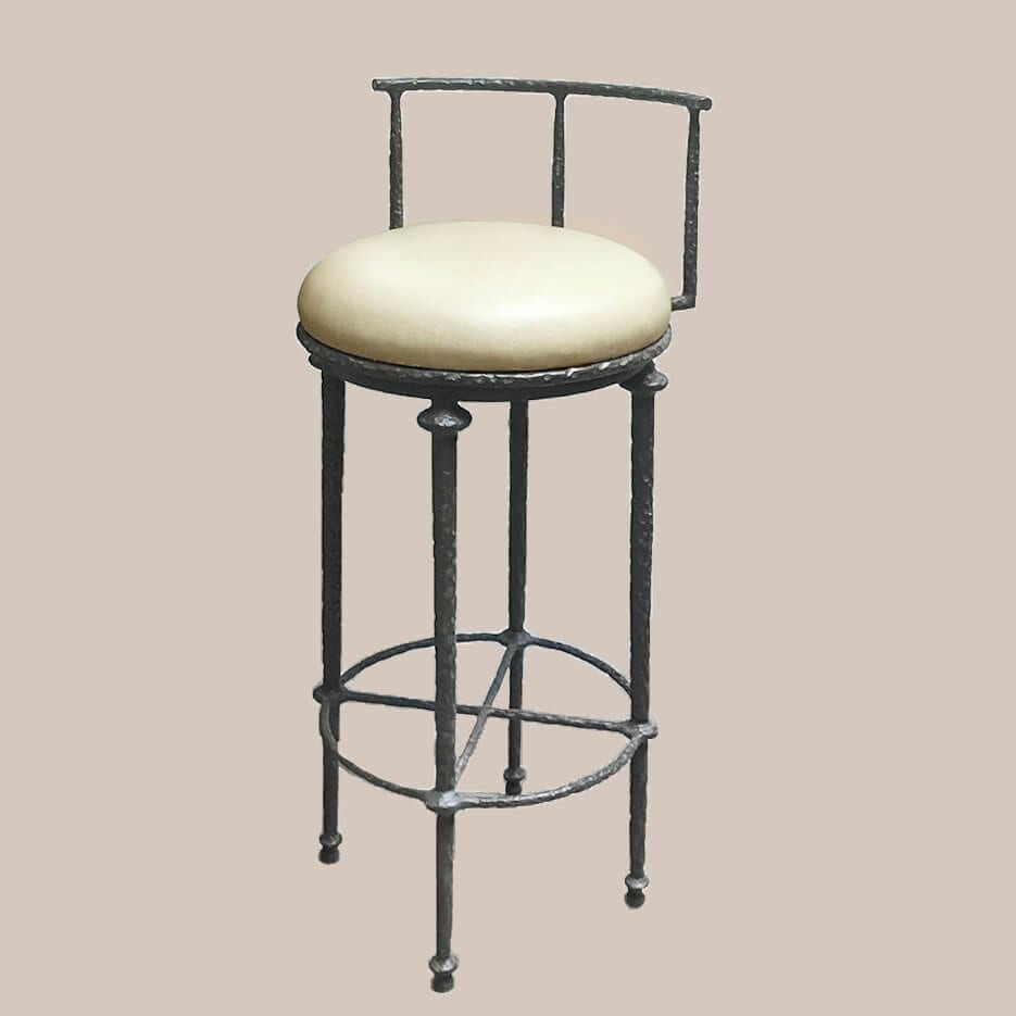 6288 Giacometti Inspired Barstool with back
